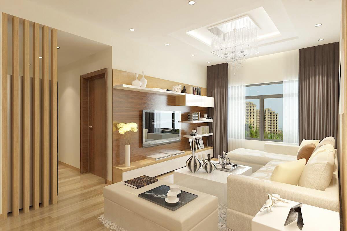 Những mẫu thiết kế nội thất chung cư đẹp mắt độc đáo