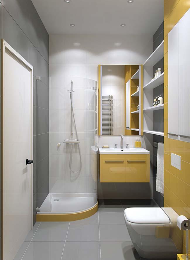 Cách thiết kế nội thất phòng tắm kính hiện đại năm 2018
