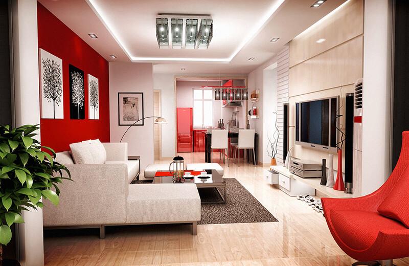 Bí quyết chọn màu sắc phù hợp trong thiết kế nội thất  nhà cho mùa đông