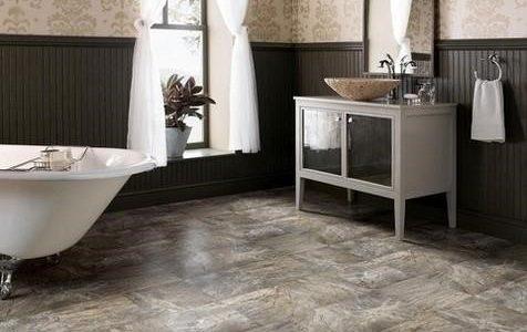 Một số vật liệu lót sàn nhà tắm hiện nay