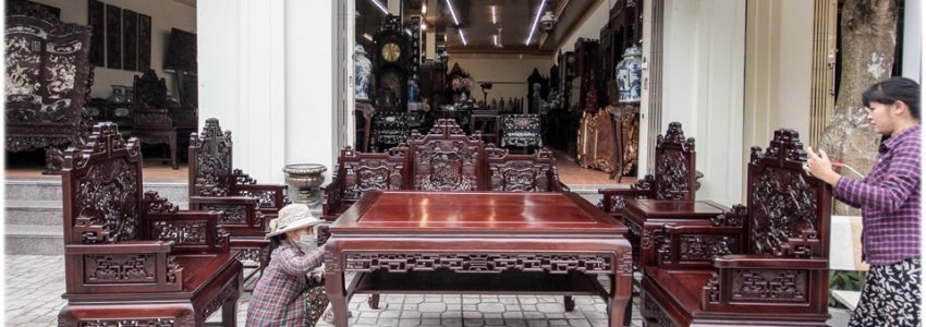 Tìm hiểu về bộ bàn ghế trường kỷ gỗ gụ
