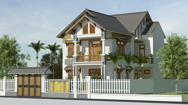 5 nguyên tắc thiết kế biệt thự mini sân vườn