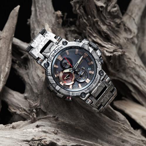 Chiêm ngưỡng chiếc   đồng hồ Casio có bluetooth MTG-B1000WLP-1ADR